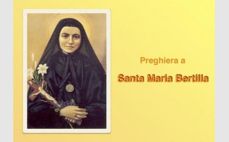 Celebrazione per Santa M. Bertilla
