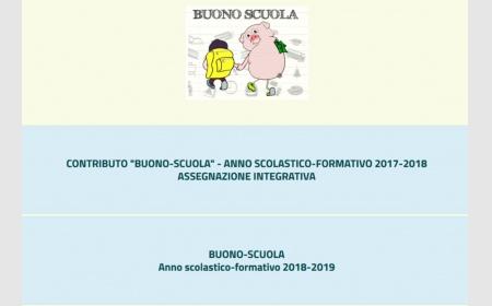 Buono Scuola 2017/18: integrazione contributo.