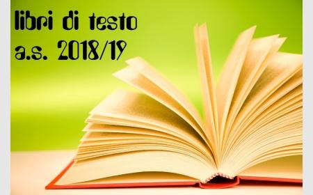 LIBRI DI TESTO A.S. 2018/19