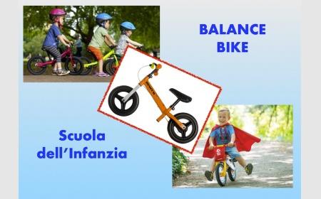 Balance bike infanzia