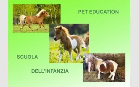 Pet education scuola dell'infanzia